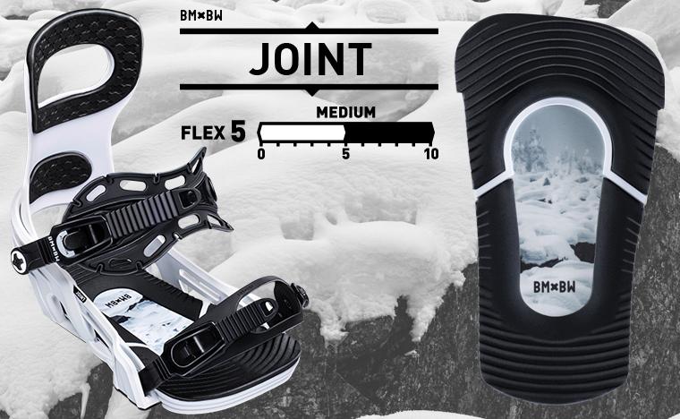Bent Metal Bindings Joint snowboard binding