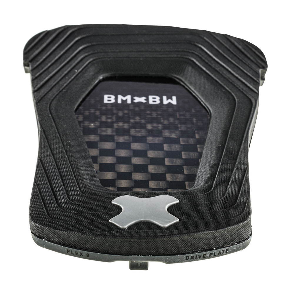Bent Metal Binding Tech Canted Footbed Pad