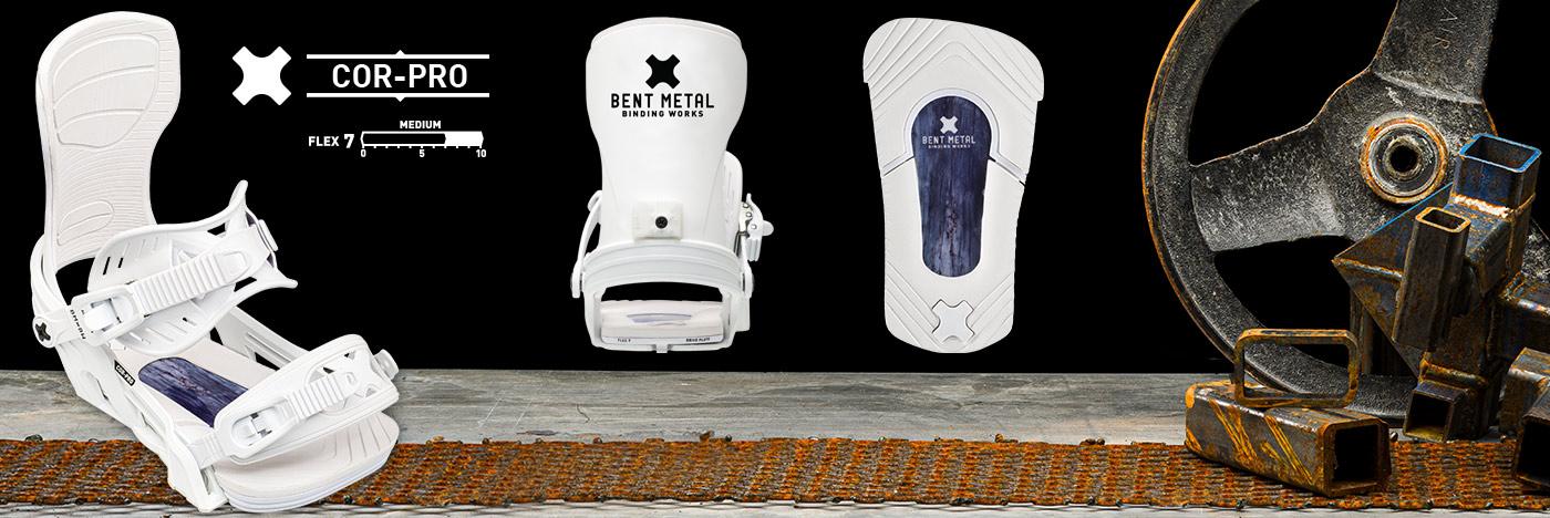 Bent Metal Cor-Pro Snowboard Binding