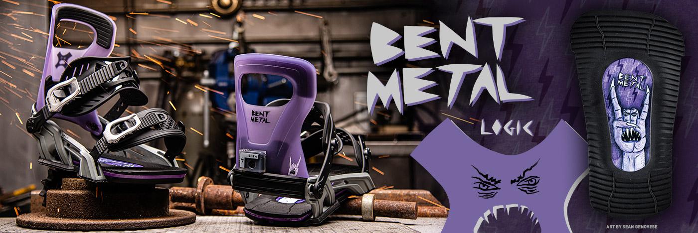 Bent Metal Binding Works Logic Sean Genovese Snowboard Binding